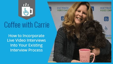 How to Incorporate Live Video Interviews Into Your Existing Interview Process