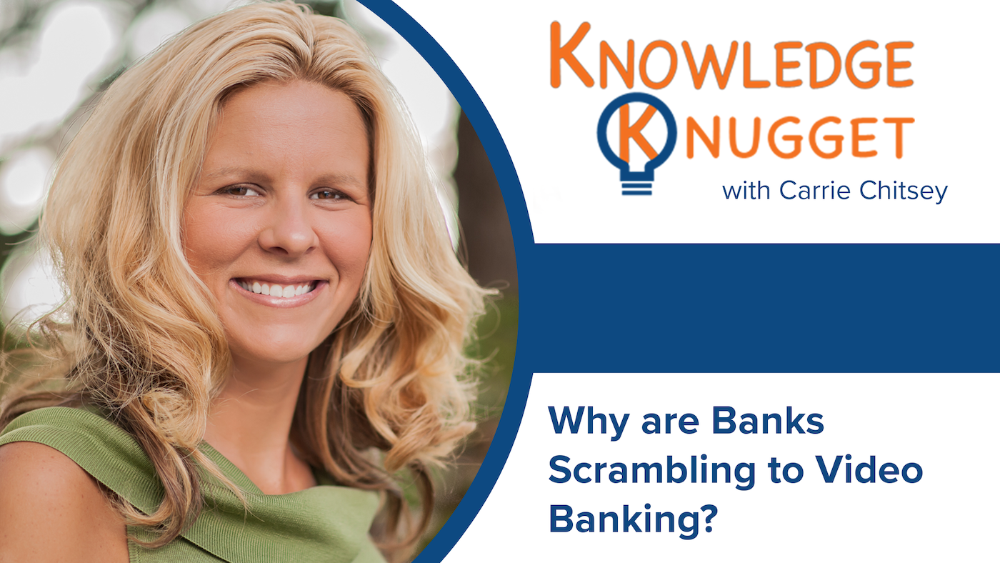 Why are Banks Scrambling to Video Banking?
