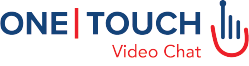 one touch video chat logo